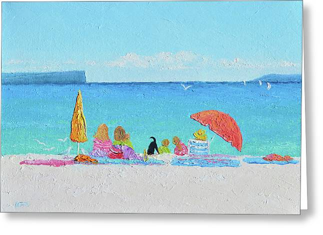 Sunny Days At Hyams Beach Jervis Bay  Greeting Card