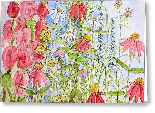 Sunny Days Greeting Card by Laurie Rohner