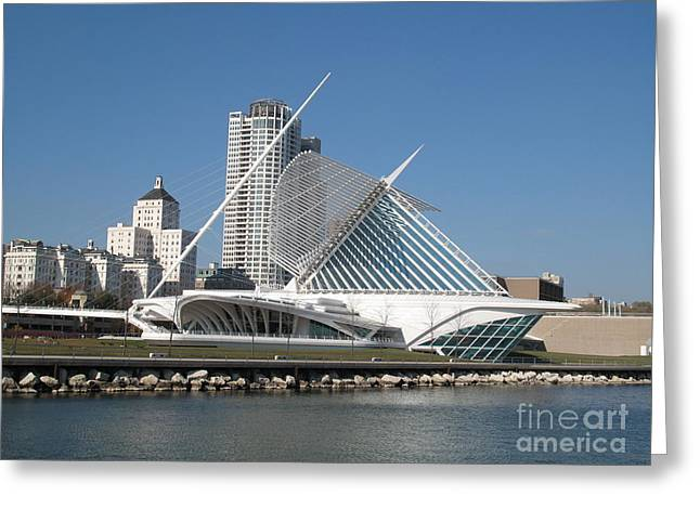 Sunny Lakefront Morning Greeting Card by John December