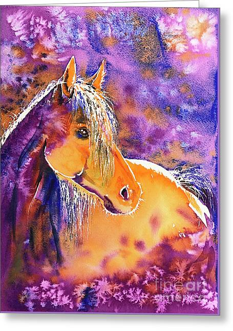 Sunny Mare Greeting Card