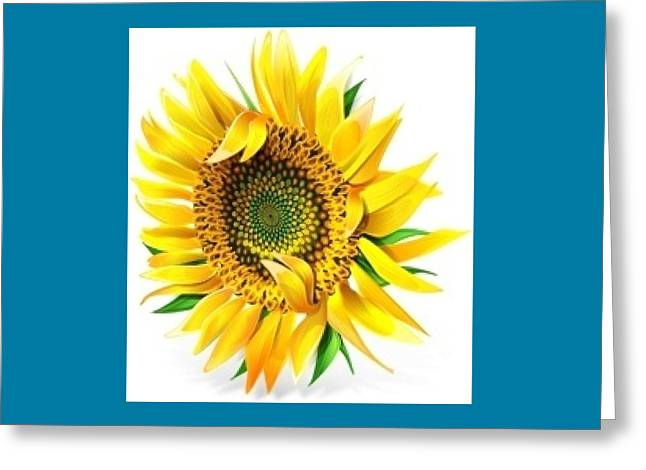 Sunny Greeting Card by Now