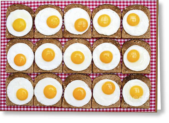Sunny Side Up Greeting Card by Tim Gainey