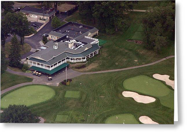 Sunnybrook Golf Club Clubhouse Greeting Card by Duncan Pearson