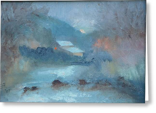 Sunrise ---sold Greeting Card by Bryan Alexander