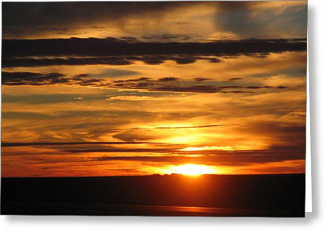 Greeting Card featuring the photograph Sunrise 1 by David Dunham