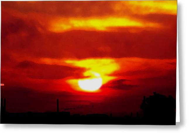 Sunrise 1 Greeting Card by Travis Wilson