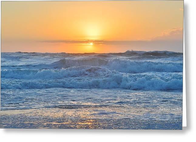 Sunrise 18th Of June Greeting Card