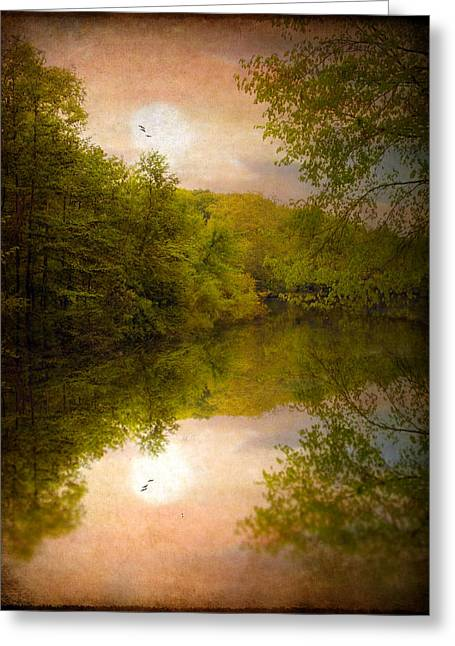 Sunrise 2 Greeting Card by Jessica Jenney