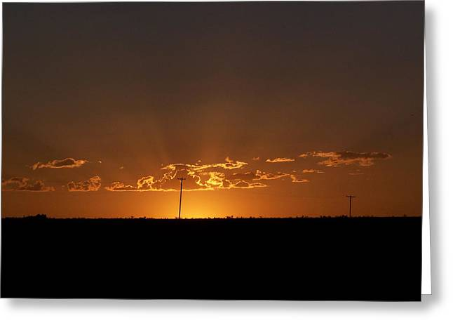 Sunrise 2 Greeting Card by Travis Wilson