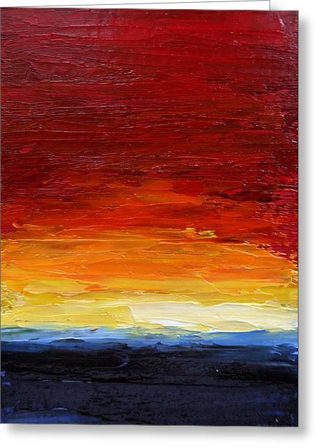 Sunrise #22 Greeting Card by Fred Wilson
