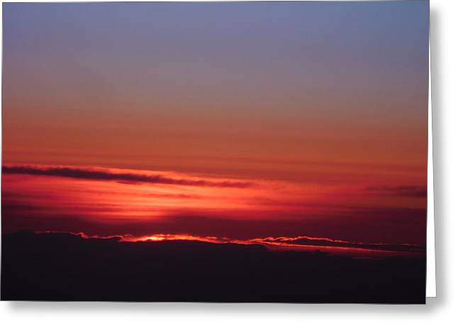 Sunrise A Different View Greeting Card