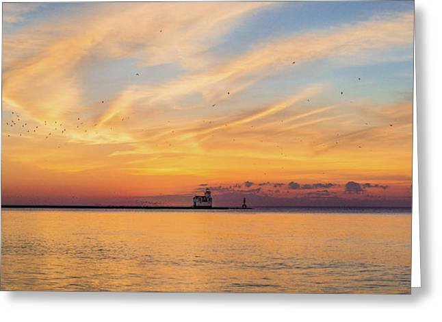 Greeting Card featuring the photograph Sunrise And Splendor by Bill Pevlor