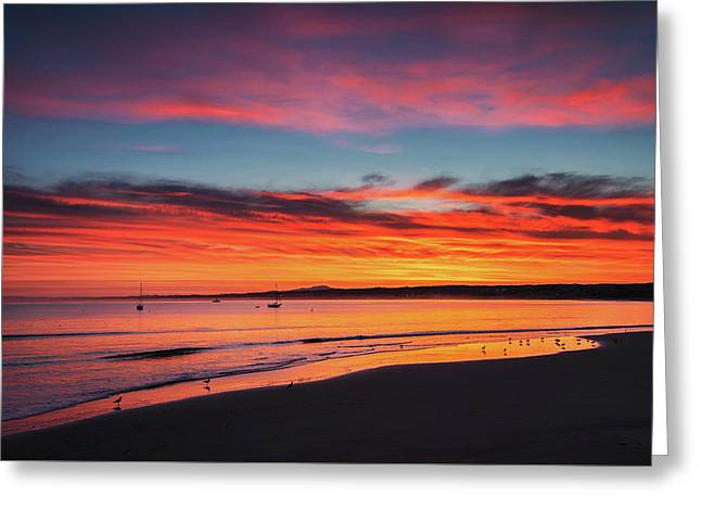 Sunrise Greeting Card by Aron Kearney