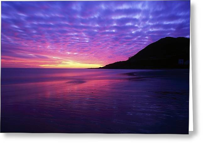 Sunrise At Bray Head, Co Wicklow Greeting Card