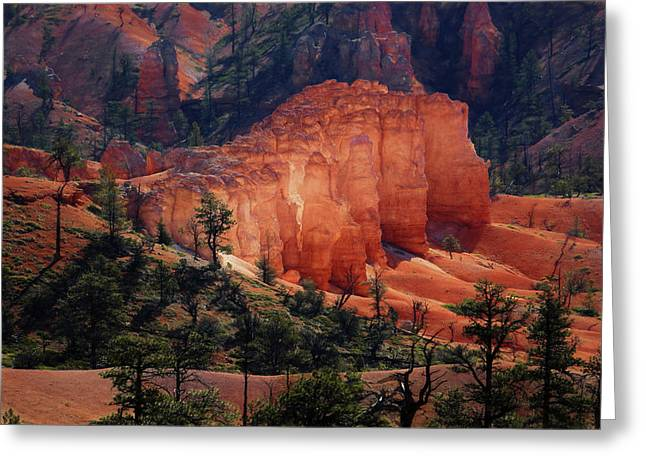 Greeting Card featuring the photograph Sunrise At Bryce Canyon by Donna Kennedy