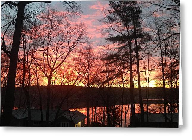 Sunrise At Carolina Trace Greeting Card