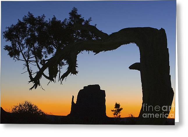Sunrise At East Mitten Greeting Card by Jerry Fornarotto