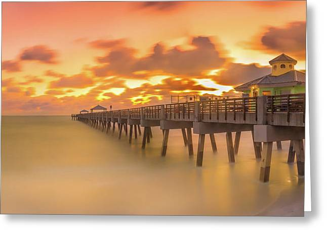 Sunrise At Juno Beach Greeting Card
