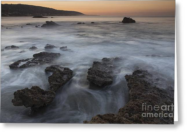 Sunrise At Laguna Beach II Greeting Card by Keith Kapple