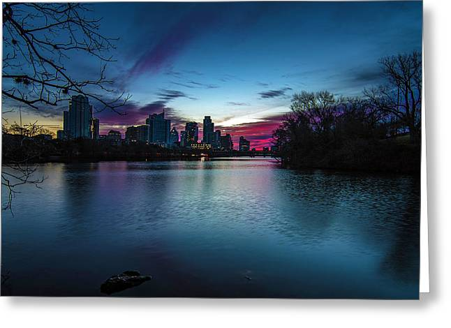 Sunrise At Lou Neff Point Greeting Card