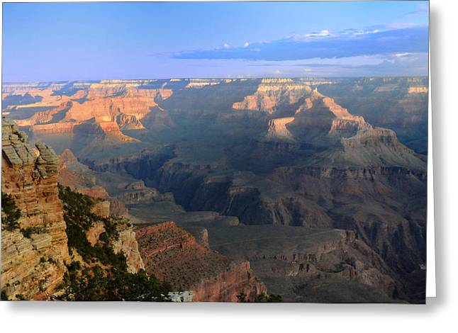 Sunrise At Mather Point  --  Grand Canyon  Greeting Card