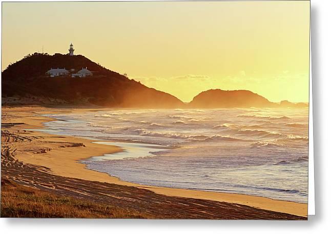 Sunrise At Sugarloaf Point Greeting Card