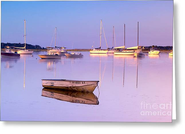 Sunrise At West Bay Osterville Cape Cod Greeting Card by Matt Suess