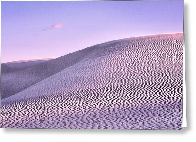 Sunrise At White Sands Greeting Card