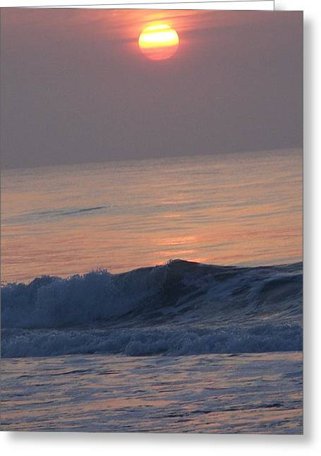 Sunrise At Wrightsville Beach Greeting Card