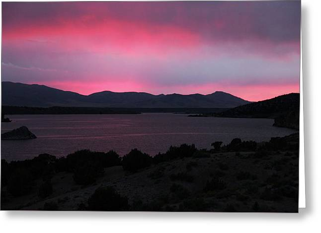 Sunrise At Yuba Lake Greeting Card by Dan Pearce