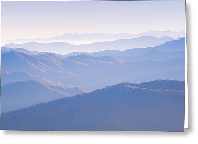 Sunrise Atop Clingman's Dome Gsmnp Greeting Card