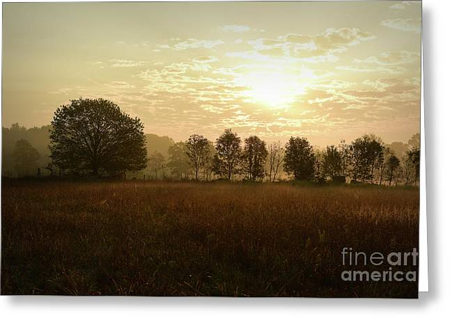 Sunrise Autumn Equinox 2017 Greeting Card