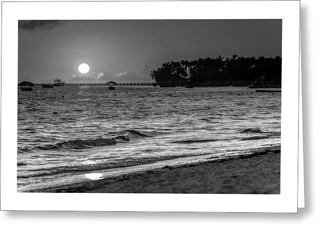 Sunrise  Greeting Card by Bulik Elena