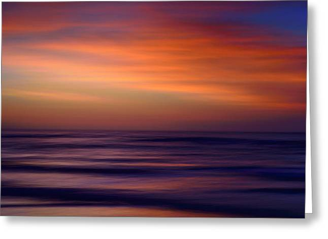 Sunrise Greeting Card by Carol Eade