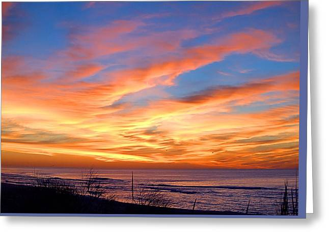 Sunrise Dune I I I Greeting Card