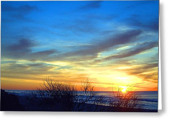 Sunrise Dune I I Greeting Card