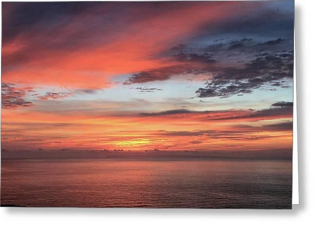 Sunrise From Koko Head Greeting Card