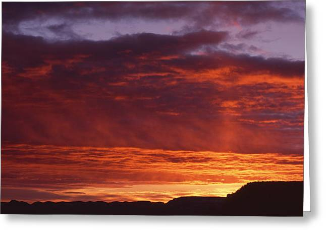 Sunrise Grand Canyon National Park Az Greeting Card