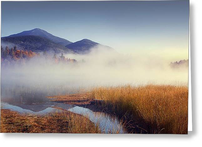 Sunrise In Adirondacks Greeting Card