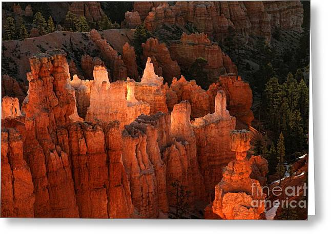 Sunrise In Bryce 6 Greeting Card by Edward R Wisell