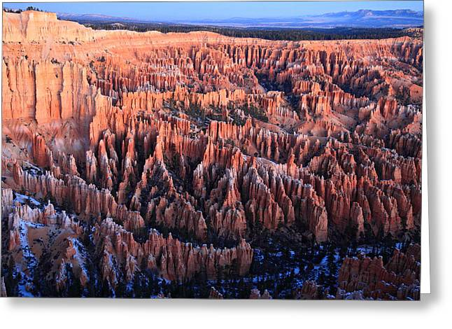 Sunrise In Bryce Canyon National Aprk Greeting Card