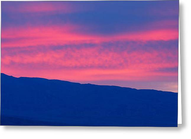 Sunrise In Death Valley National Park Greeting Card by Panoramic Images