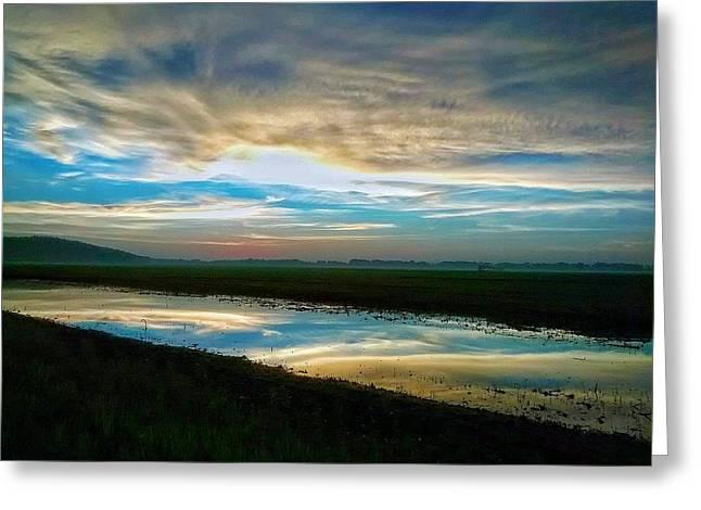 Sunrise In Doniphan Kansas Greeting Card by Dustin Soph