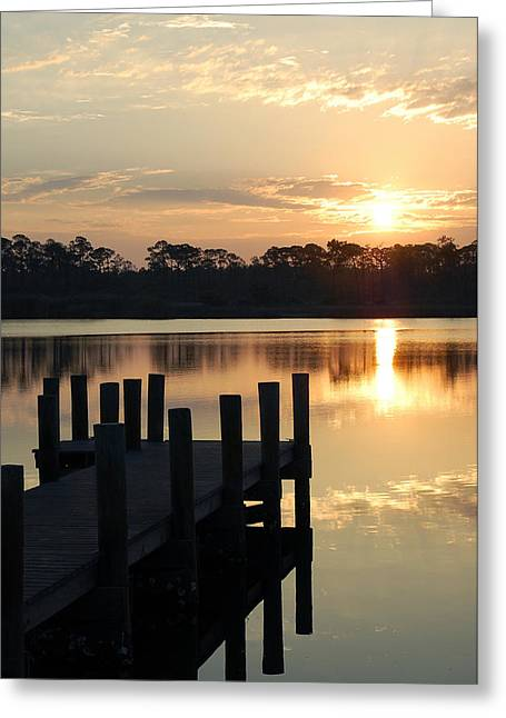 Sunrise In Grayton Beach II Greeting Card