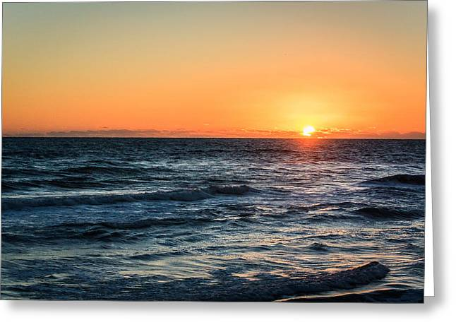 Sunrise In Nags Head Greeting Card