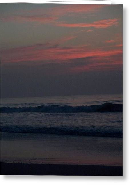 Sunrise In North Carolina Greeting Card