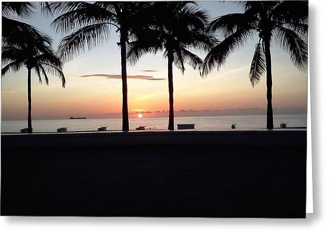 Sunrise In September Greeting Card