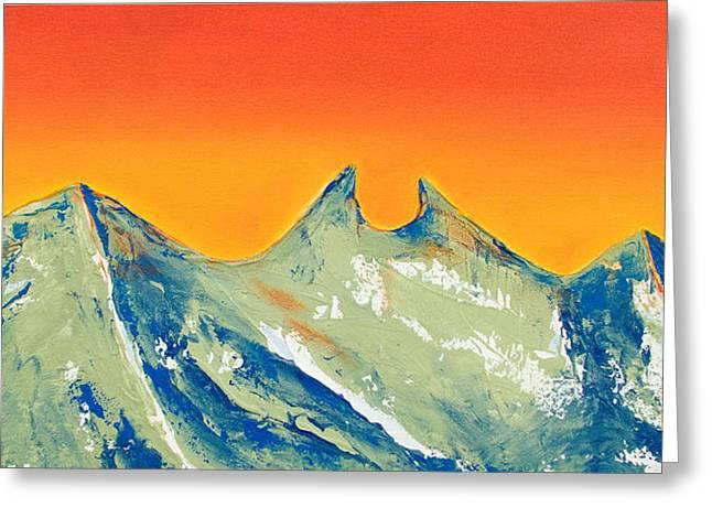 Sunrise La Silla Greeting Card