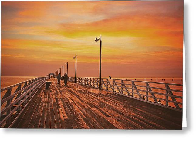 Sunrise Lovers Greeting Card