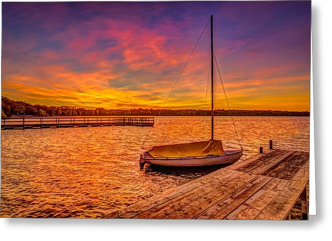 Sunrise Minneapolis Greeting Card by RC Pics